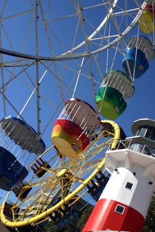 Free Ferris Wheel Stock Photography - 932742