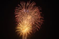 Fireworks 186 Royalty Free Stock Photography
