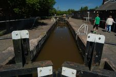 Free Canal Locks Royalty Free Stock Photo - 936845