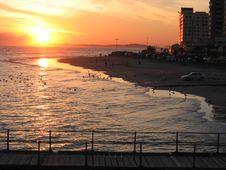 Free Strand Sunset Stock Image - 937671