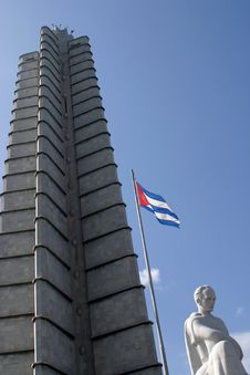 Free Cuba- Marti Statue Royalty Free Stock Images - 937719