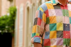 Free Colourful Shirt In Saint Tropez Royalty Free Stock Photography - 938387
