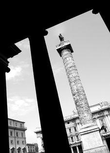 Colonna Antonina Stock Photography