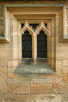 Free Old Church Window Royalty Free Stock Photo - 939775