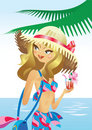 Free Tropical Beach Royalty Free Stock Image - 9306896