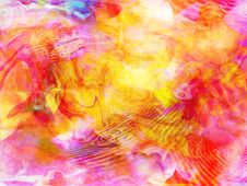 Distorted Psychedelic Abstract Royalty Free Stock Photo