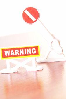 Free Warning Stock Image - 9300311