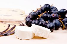 Free Cheese On The Hardboard Royalty Free Stock Images - 9300929