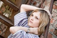 Free Portrait Of Young Beautiful Woman Royalty Free Stock Photo - 9301025
