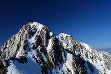 Free Romania-winter Mountain Ridge Stock Photography - 9301362