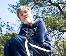 Free Boy Serious/Irritated Expression Royalty Free Stock Images - 9301879