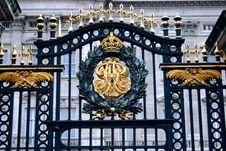 Free Buckingham Gate Stock Photography - 9303632