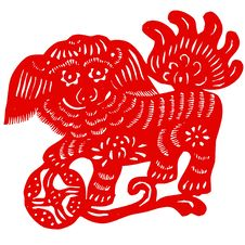 Free Chinese Zodiac Of Unicorn Stock Images - 9303634