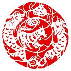 Free Chinese Zodiac Of Sheep Royalty Free Stock Photography - 9303787