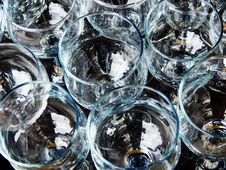 Free Glasses From Glass Royalty Free Stock Photo - 9303795
