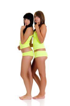 Free Beautyful Teenager Girls Stock Photo - 9304020