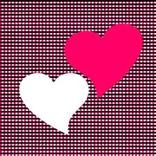 Free Two Hearts Stock Image - 9304341