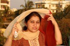 Free Traditional Maharashtrian Woman Royalty Free Stock Photo - 9304505