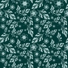Free Seamless Floral Pattern Royalty Free Stock Images - 9305149