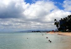 Free Waikiki Beach, Hawaii Royalty Free Stock Image - 9305636