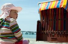 Free Beach Kid Royalty Free Stock Photo - 9305765