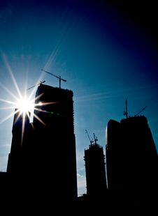 Free Skyscrapers Stock Photography - 9305792