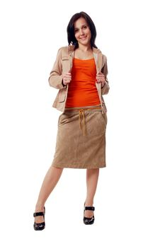 Free Woman In A Jacket Royalty Free Stock Image - 9305846