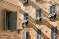 Old Buildings In Nice Stock Photography