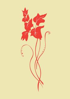 Free Floral Element Royalty Free Stock Images - 9307579