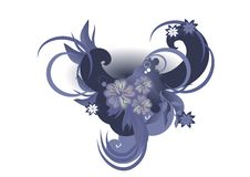 Free Floral Background Royalty Free Stock Images - 9308359