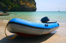 Free Inflatable Boat Stock Photography - 9308502