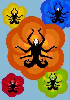 Free Indian Woman Stock Image - 9308601