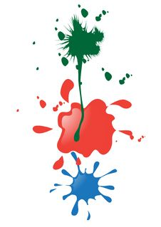 Free Paint Blobs Stock Photography - 9308682