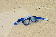 Free Mask And Snorkel Stock Images - 9308984