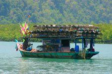 Free Thai Fishing Boats Stock Photos - 9309113