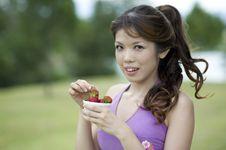 Free Fitness Series Healthy Snacks Royalty Free Stock Photo - 9309155