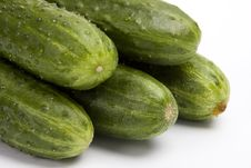 Free Cucumbers. Royalty Free Stock Images - 9309159