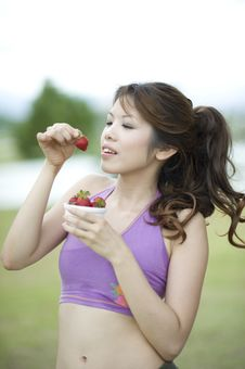 Free Fitness Series Healthy Snacks Stock Image - 9309341