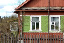 Free Russian Wooden House Stock Photography - 9309522