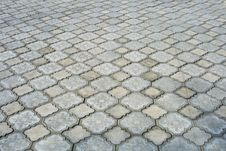 Free Grey Stone  Block Paving Stock Photos - 9309933
