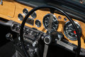 Free Clasic British Car Dashboard Stock Photos - 9311373