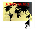 Free Global Credit Card Vector Stock Photos - 9311743