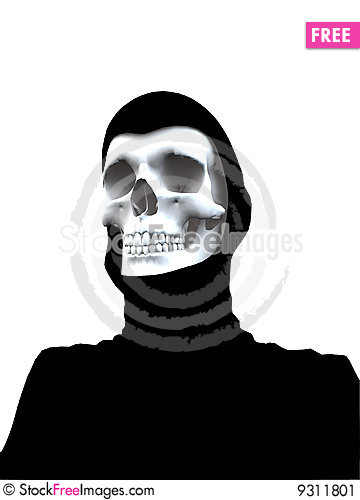 Free Deaths Head Stock Image - 9311801