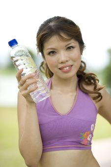 Free Fitness Series H2O Royalty Free Stock Image - 9310006