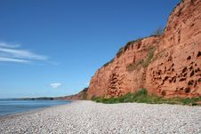 Free Budleigh Salterton Beach Stock Image - 9310051