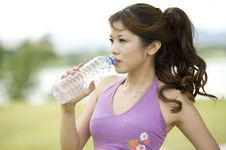 Free Fitness Series H2O Royalty Free Stock Photo - 9310125