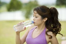 Free Fitness Series H2O Stock Photography - 9310162