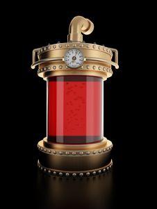 Free Steampunk Laboratory Bottle Stock Photography - 9310202