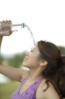 Free Fitness Series H2O Stock Photography - 9310222