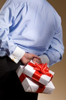 Free Gift Royalty Free Stock Image - 9312476